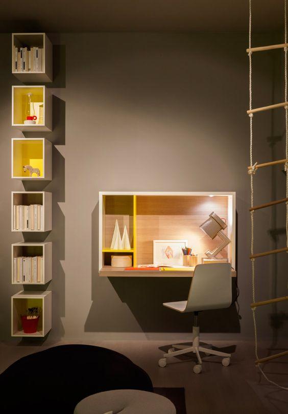 kirjoituspöytä... Children's rooms - nidi design