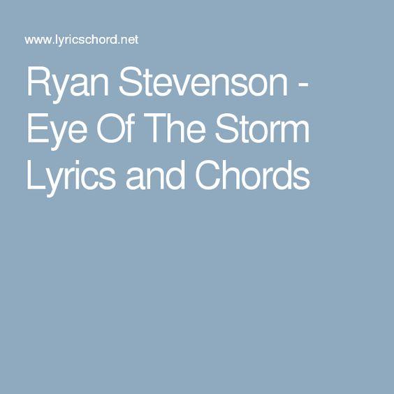 Eye of the Hurricane Lyrics