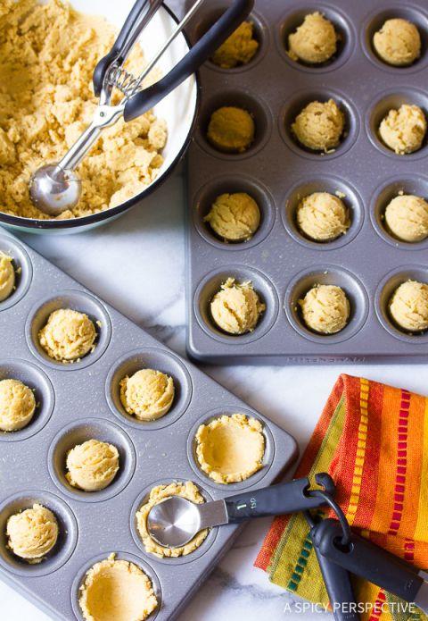 How to Make Tamale Bites Recipe on ASpicyPerspective.com