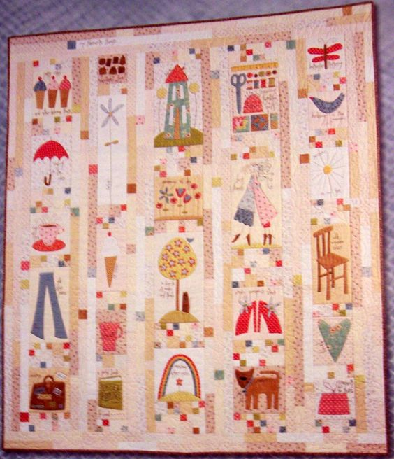 sewingly along...: my favorite things quilt blocks