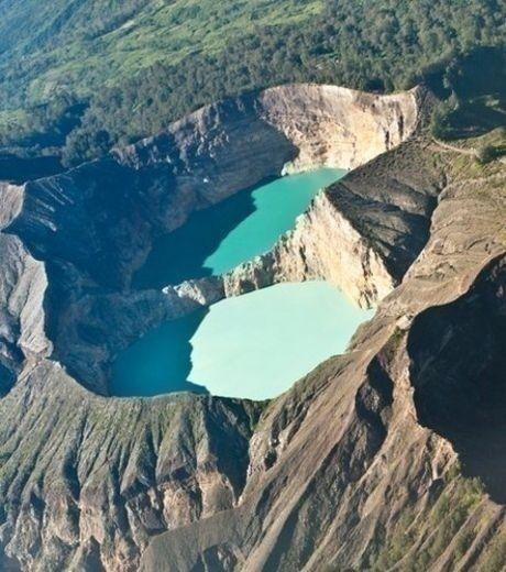 Kelimutu - Indonésie