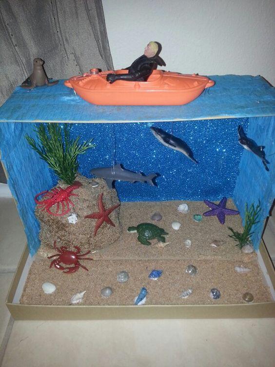 Shark Diorama: