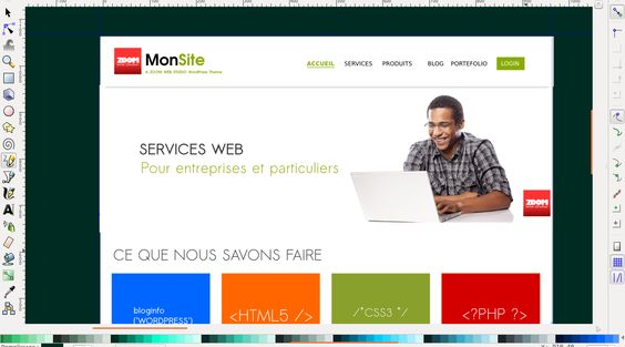 Dernier thème wordpress > https://www.behance.net/gallery/ZWS-MonSite-Theme-WordPress/15127789 #zws