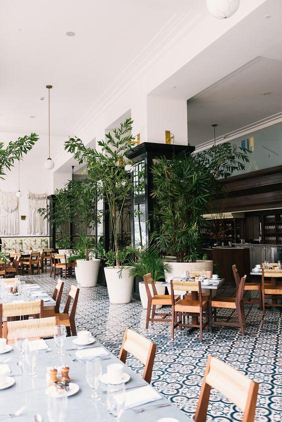ресторан в стиле эко