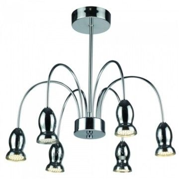 Tp24 Oregon Six Arm Flute Ceiling Light from £132.00 with FREE delivery!