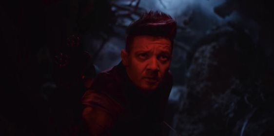 Hawkeye in Avengers: Endgame trailer TV Spot