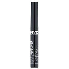 Favorite drugstore liquid eyeliner. N.Y.C. Liquid Eyeliner, 887A Black