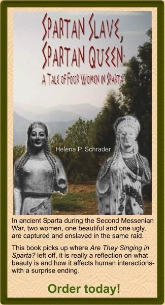 Spartan Women - educated, empowered, and trained and competed in athletics (in a time where no other women in Greece did any of this). Not only were the Spartan men the toughest soldiers that ever lived, but their women were as tough as nails too.