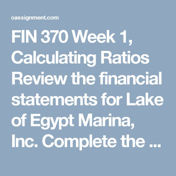 week 1 financial statement review To purchase this material click on below link 561 week 1 financial statement review.