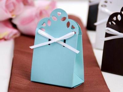 lace favor box