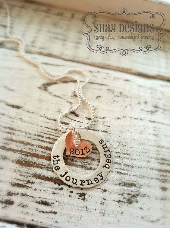graduation necklace graduate necklace graduation gifts