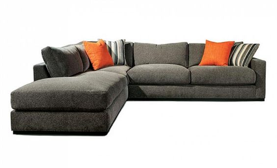 "Milo Baughman Sofa ""Big Easy"" Bras Droit / Big Easy Right Sofa."