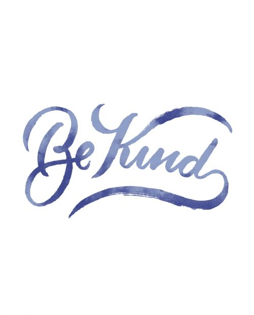 One of the most important things going through life is to be kind. Sometimes we get upset or lose our way in doing just that. Being kind to others is one of the greatest gifts you can give to people. You never know what they are going through or how they are feeling and just being kind can turn their day around. So get out there and be kind!