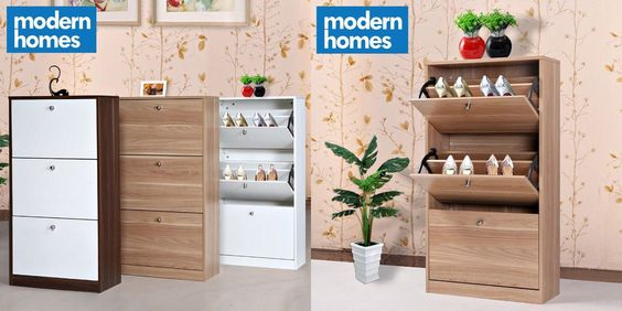 Beautify your home with this modern slim shoe rack cabinet that can be  place almost anywhere