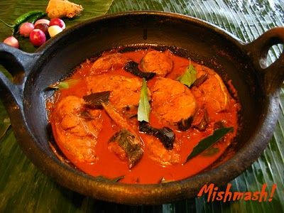 Red Fish Curry. A whiff is enough to take me home.