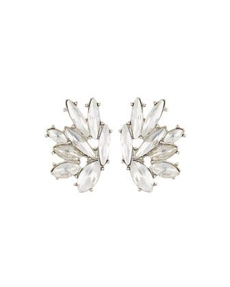 Marquise+Crystal+Stud+Earrings+by+Lydell+NYC+at+Neiman+Marcus+Last+Call.