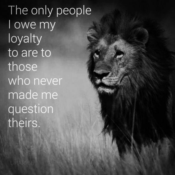 Loyalty means everything. #divorce