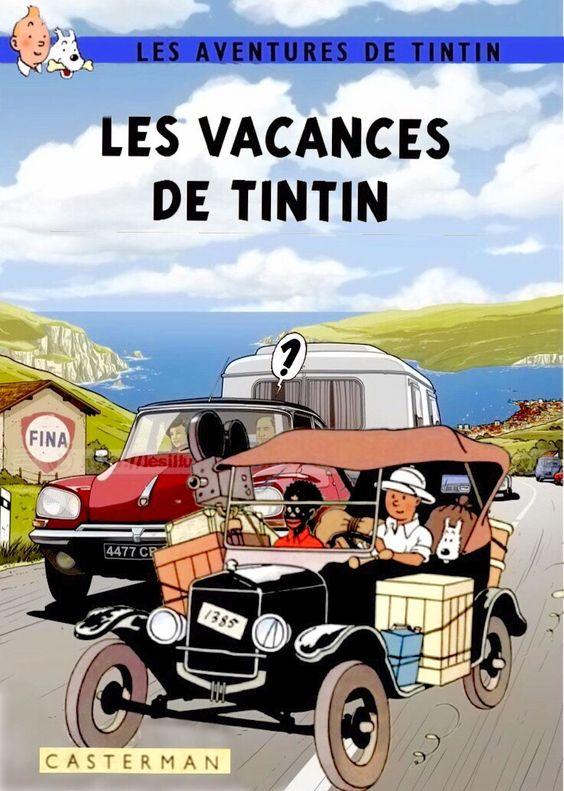 Les Vacances de Tintin.: