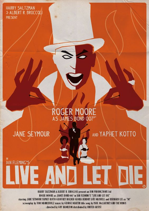 Vintage-Style James Bond Poster Series