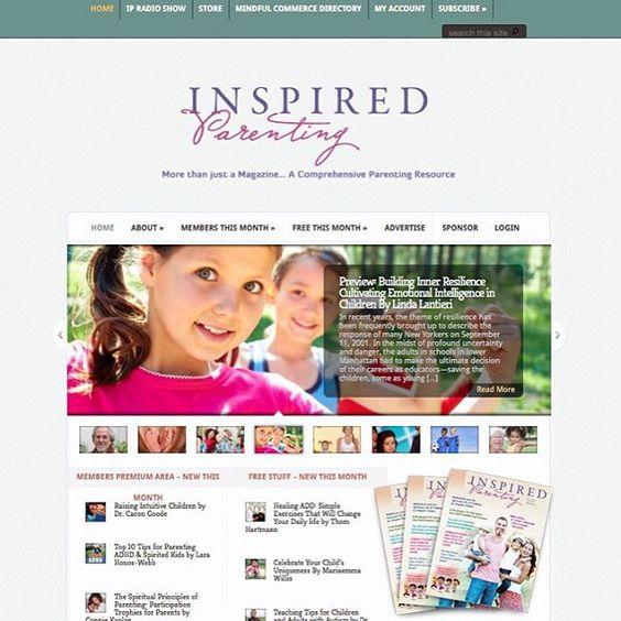 We're LIVE! Please visit our @inspiredparenting facebook fan page & like us! http://www.inspiredparentingmagazine.com #preparetobeinspired