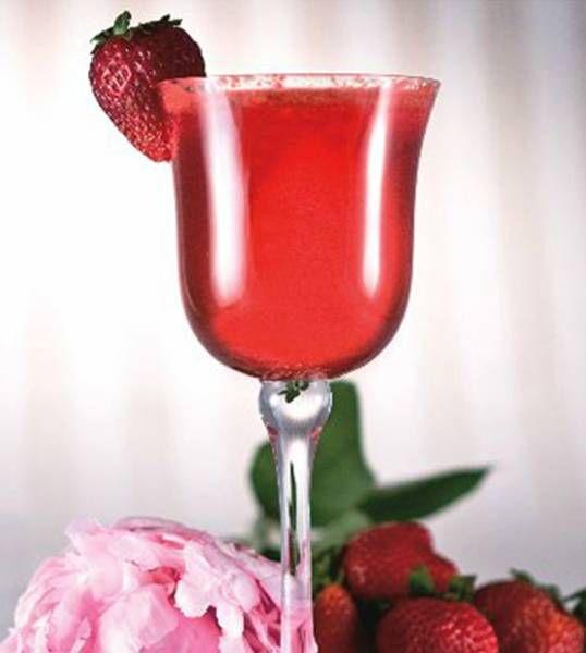basil 1 ounce strawberry syrup (or strawberry liqueur) ¼ ounce lemon ...