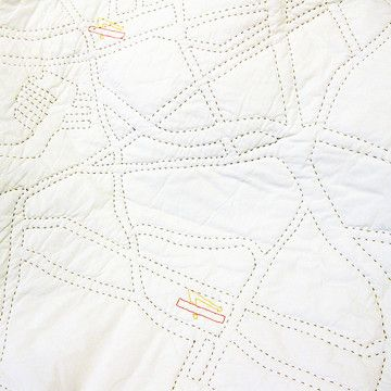 LA Burger Joint Quilt 86x92 now featured on Fab.      (Who's going to tell the blind person walking down the street with this huge quilt that it might be upside down???)