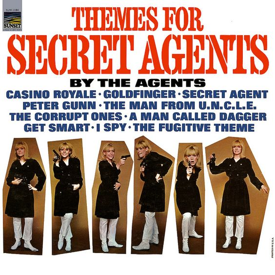 The Agents - Themes for Secret Agents (1967)