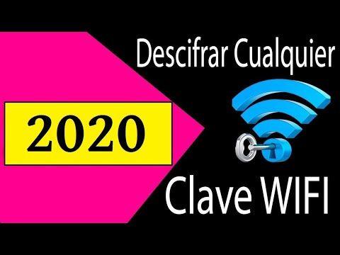 Cómo Descifrar Claves Wifi Wpa2 Psk 2020 Youtube Como Descifrar Claves Wifi Claves Wifi Wifi