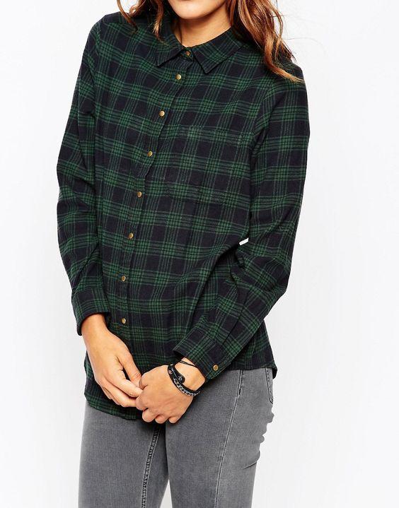 Image 3 - ASOS - Chemise d'hiver coupe boyfriend à carreaux