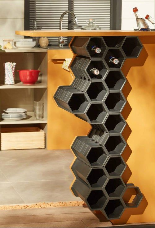 Diy Fabriquer Un Bar D Exterieur Leroy Merlin In 2020 Decor Home Decor Wine Rack