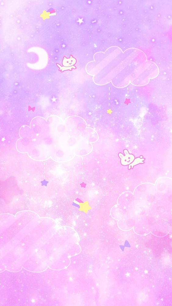 ❤Kawaii Love❤ ~Kawaii pink galaxy cats cocoppa wallpaper