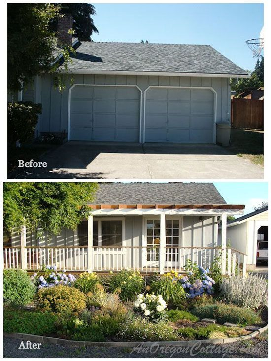 Ranch home porches add appeal and comfort cottages home for Porch renovation ideas