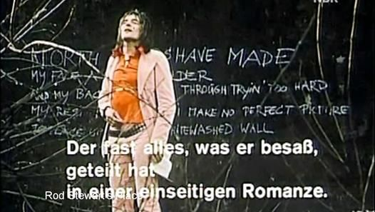 """sympathy for the devil Rod Stewart / Faces  1971 (+ backstage footage, rehearsal """"lady day"""" a capella) documentary NDR german TV - superstars"""