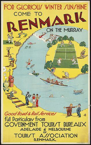 For glorious winter sunshine come to Renmark on the Murray by Boston Public Library, via Flickr