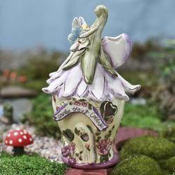 Cute ceramic fairy garden houses