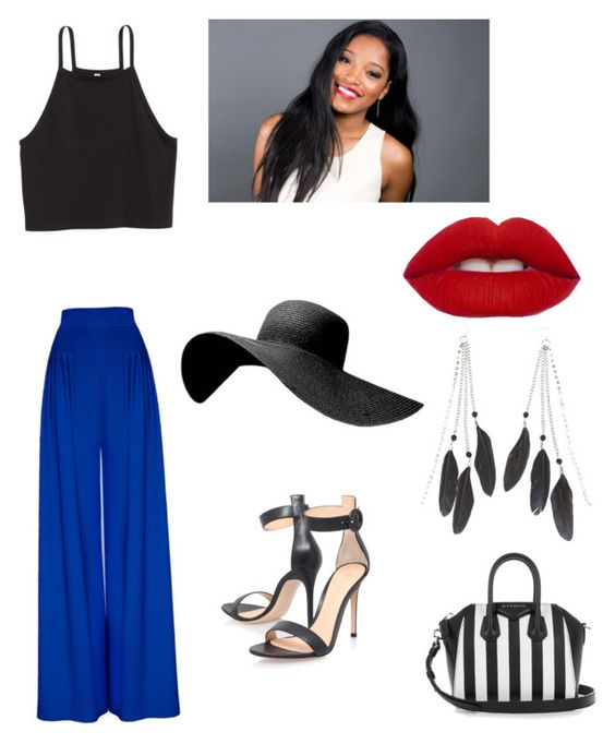 """""""Untitled #152"""" by ttmya on Polyvore featuring Gianvito Rossi, Givenchy and Charlotte Russe"""