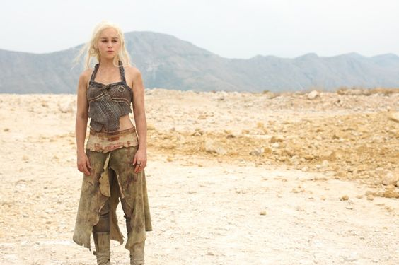Saffron Tinted Glasses: Game of Thrones Fashion, Hair and Makeup
