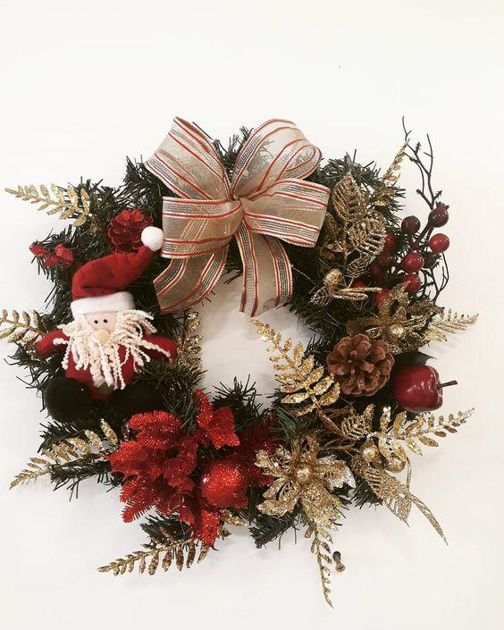 Guirlandas de Natal: 148 ideias para decorar com esse enfeite encantador