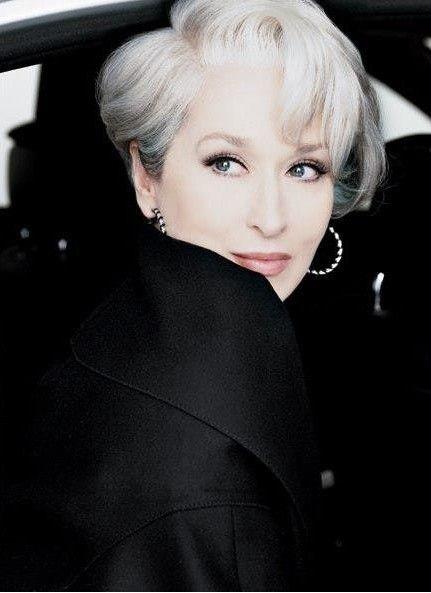 "Meryl Streep...being ""Devilish"". #TheDevilWearsPrada"