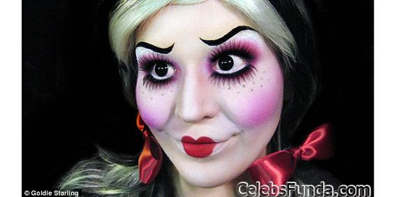 The Most Awesomely Scary Halloween Makeup