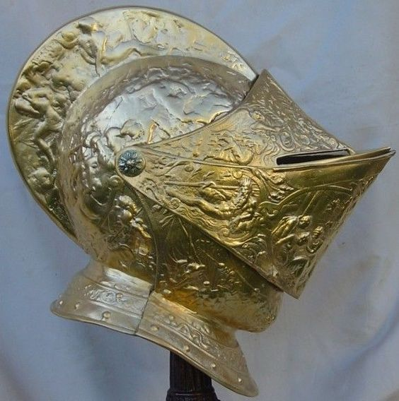 Medieval King Of France Henry II Jousting Parade Helmet
