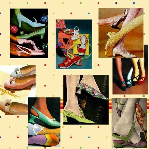 Zapatos y Medias años 60