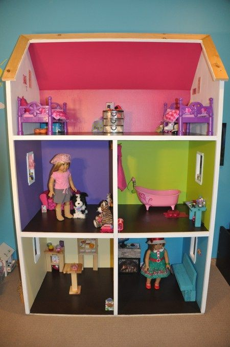 My 18 inch doll house!:
