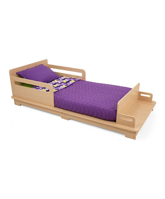 Look at this Natural Modern Bed on #zulily today!