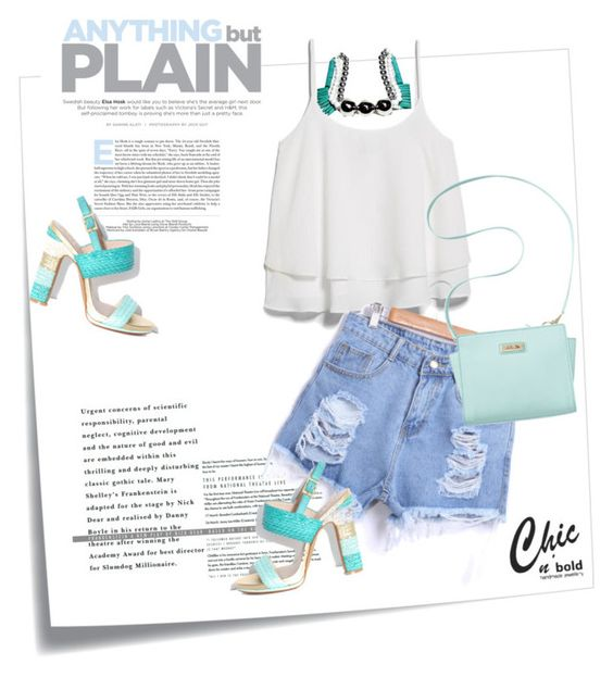 """""""Chic n' Bold"""" by tanjico ❤ liked on Polyvore"""