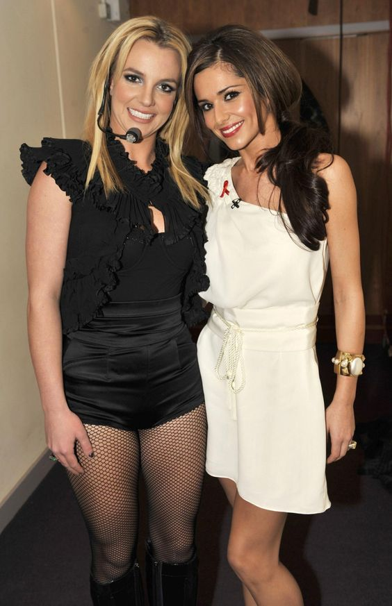 Cheryl Cole and the sexy Britney Spears