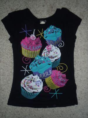 Wet Seal- Cupcake Shirt
