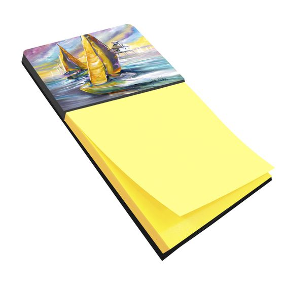 Sailboat with Middle Bay Lighthouse Sticky Note Holder JMK1061SN