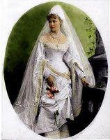 "Grand Duchess Elizaveta ""Ella"" Fyodorovna Romanova of Russia, wife of Grand Duke Sergey Alexandrovich, nee Princess Elisabeth of Hesse, sist..."