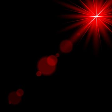Sunlight Lens Flare Red Light Effect Spotlight Illuminated Vector Illustration Spotlight Clipart Abstract Art Png And Vector With Transparent Background For Lens Flare Lens Flare Effect Vector Illustration